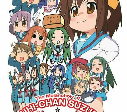 Nyoron Churuya-san and Haruhi-chan Suzumiya: Episodes 1-3 in Tweets