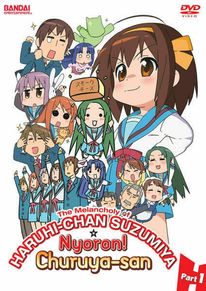 Nyoron Churuya-san and Haruhi-chan Suzumiya: Episodes 1-3 in Tweets