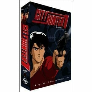 City Hunter DVD Boxart