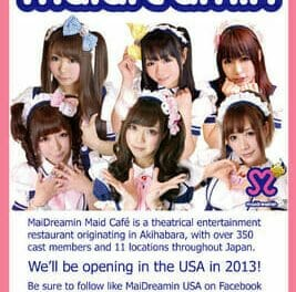 Maid Cafe to Open in Los Angeles