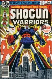 Shogun Warriors 1 Cover