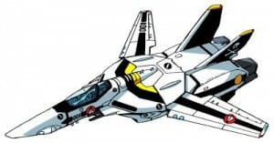 A Valkyrie VF-1 Fighter