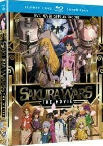Sakura Wars Movie Boxart