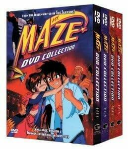 Maze TV DVD Cover