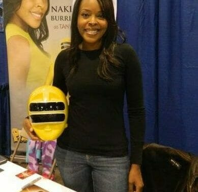Zeo Ranger Two! Yellow! Interview with Nakia Burrise