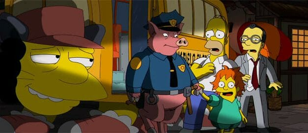 Randomness: Miyazaki Meets The Simpsons