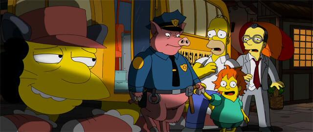Randomness: Miyazaki Meets The Simpsons