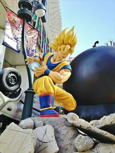 Worlds Collide With Goku vs. Luffy Brawl at Shibuya Parco
