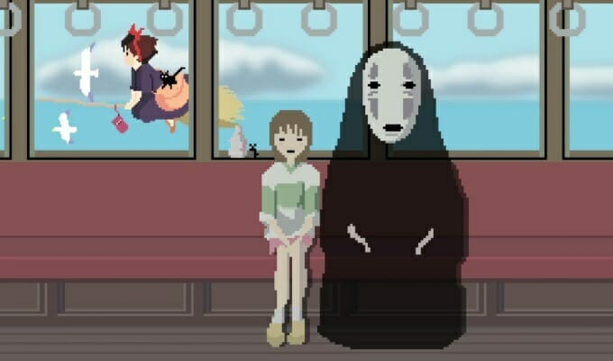 This 8-Bit Tribute To Hayao Miyazaki Is Short, Sweet, And Amazing