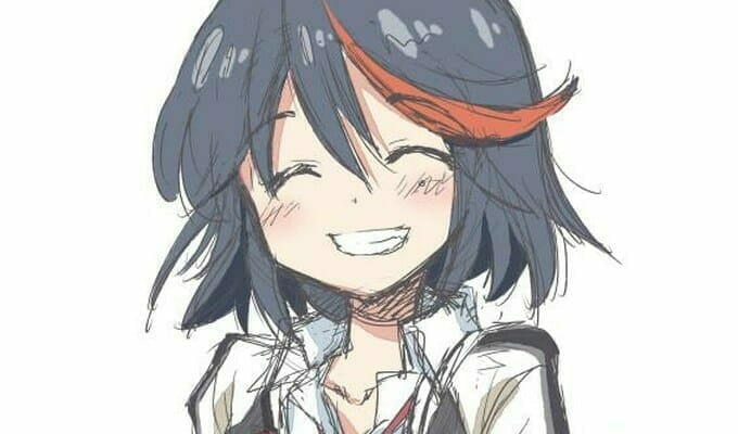 Hidamari Sketch's Ume Aoki Draws Ryuko Matoi, D'awws Ensue