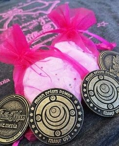 NYCC Sailor Moon Shirts and Coins - 20140930