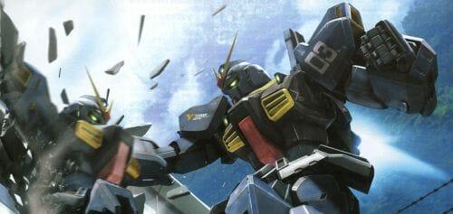 Gundam Wing Arbook Art - 20141011
