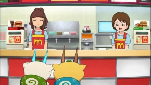 Odaiba Yokai Watch McDonalds 001 - 20141030