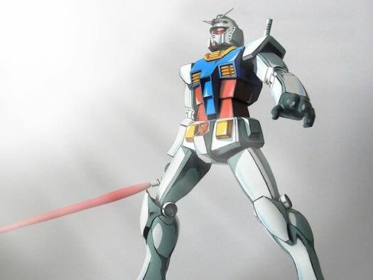 Anime RX-78-2 Gunpla 001 - 20141126