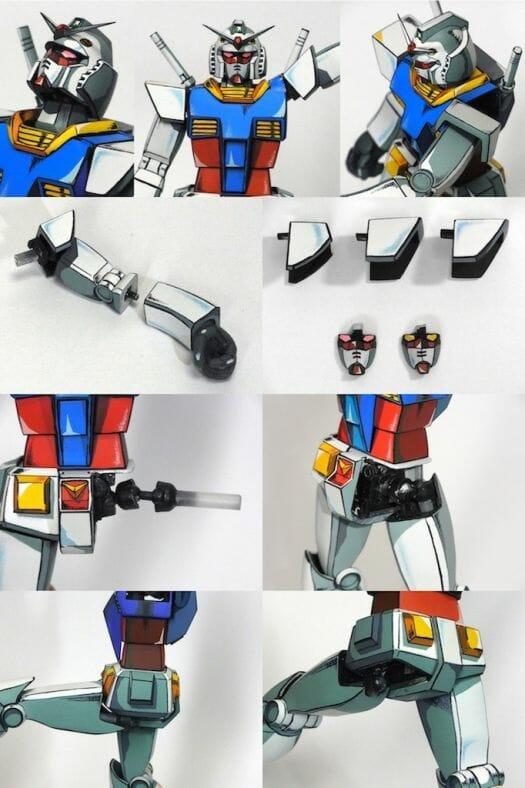 Anime RX-78-2 Gunpla 004 - 20141126