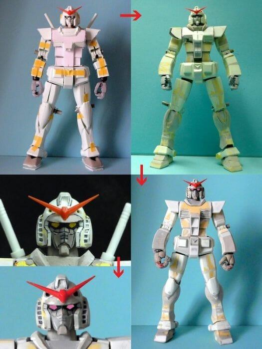 Anime RX-78-2 Gunpla Production 001 - 20141126