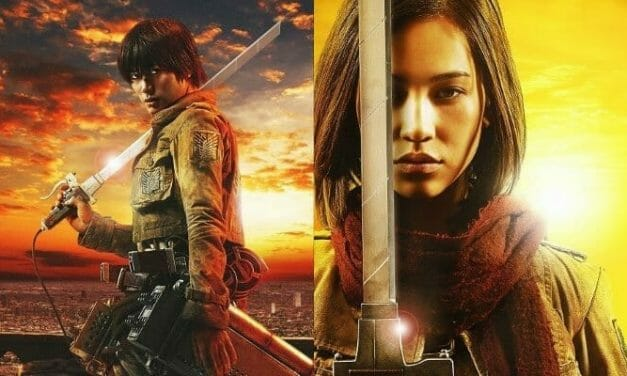 Live Action Attack on Titan Film's Cast Shown In Costume. Hange Approves!
