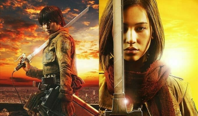 FUNimation Streams Subtitled Attack on Titan Live-Action Movie Trailer