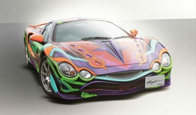 7-Eleven Offers One-Of-A-Kind Evangelion Car… For 16 Million Yen!