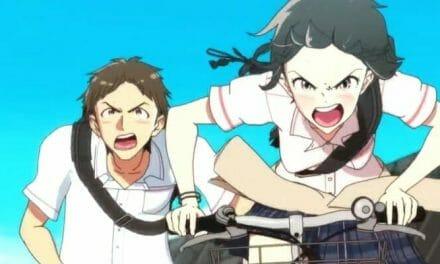 Hill Climb Girl Channels Classic Hideaki Anno