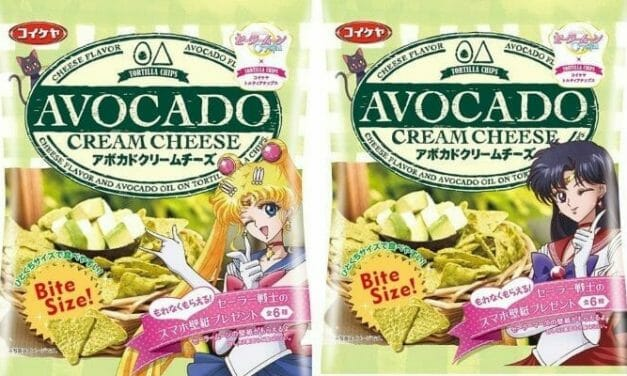 Shiny Makeup Arriba? Sailor Moon Tortilla Chips Are Coming!