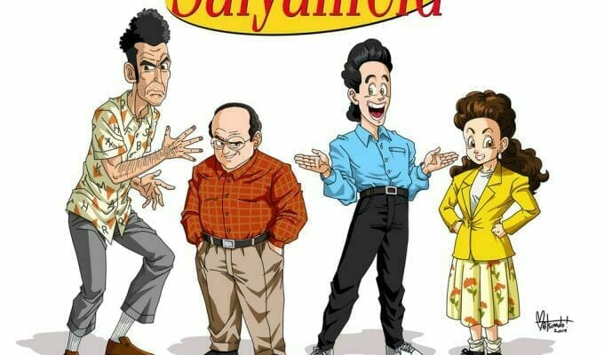 Saiyanfeld Brings Seinfeld Into the Dragon Ball Dimension