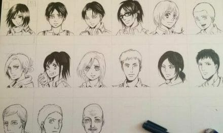 Princess Jellyfish Creator Draws Attack On Titan Cast
