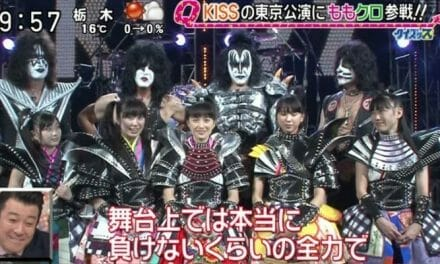 Sailor Moon Crystal's Momoiro Clover Z Joins the KISS Army