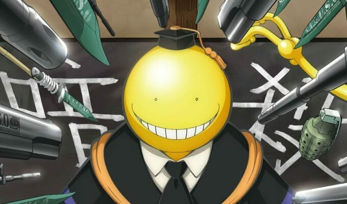 FUNimation Announces Assassination Classroom Dub Cast
