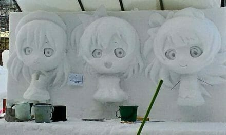 Early Peek At The Love Live! Snow Sculpture Melts Hearts, Steals Souls