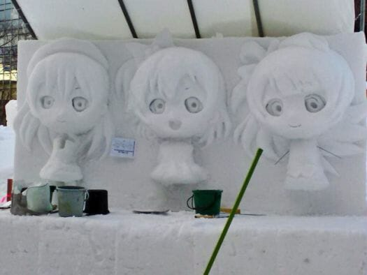 Early Love Live Snow Sculpture- 20150125