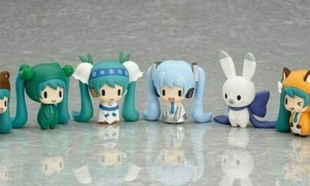Snow Miku Gets Adorable Gashapon Toys
