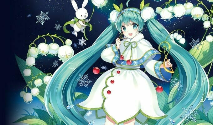 Sega Celebrates 6 Years Of Snow Miku In Project Diva X Trailer