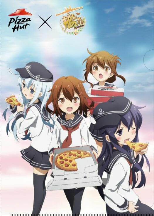 KanColle Pizza Hut Key Visual 001 - 20150219
