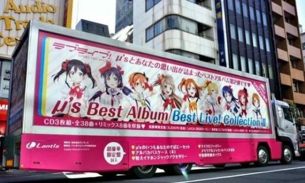 Love Live! Ad Truck Trundles Through Akihabara & Ikebukuro