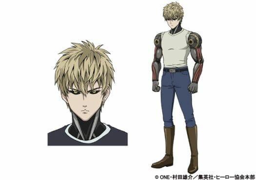 One Punch Man Genos Character Sheet - 20150323