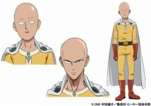 One Punch Man Saitama Character Sheet - 20150323