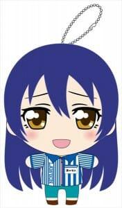Love Live Lawson Stuffed Umi Keychain 001 - 20150430
