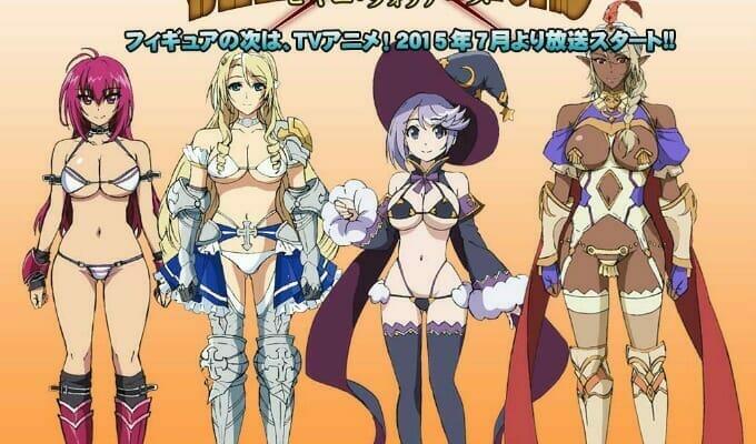 Bikini Warriors Figures Get Anime Series, Manga