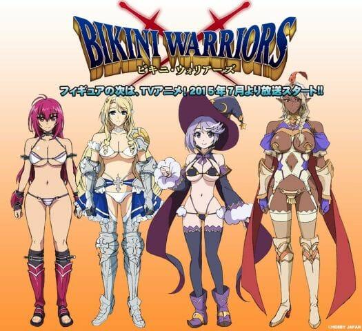 Bikini Warriors Anime Key Visual 001 - 20150516
