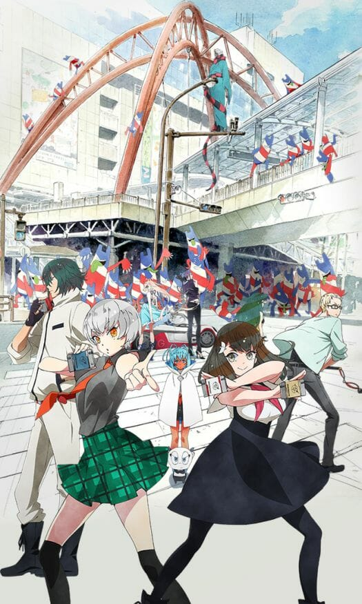 Gatchaman Crowds Insight Key Visual 002 - 20150508