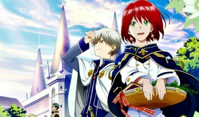 """Viz Media Licenses """"Snow White with the Red Hair"""" Manga"""