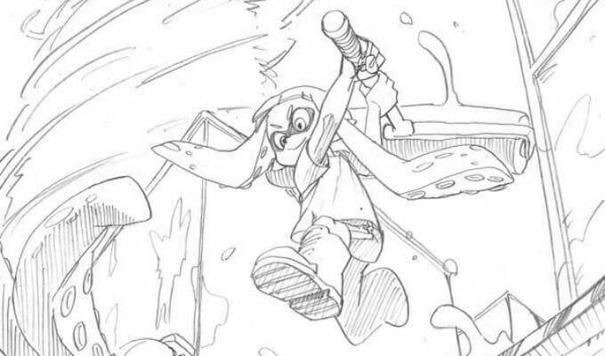Nagato Yuki, My Hero Academia Artists Sketch Splatoon