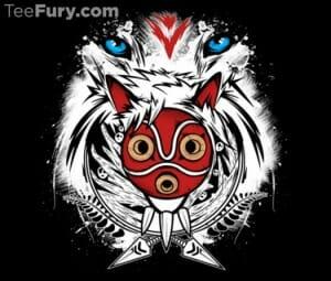 Teefury Shirt Forest Spirit Protector 001 - 20150607