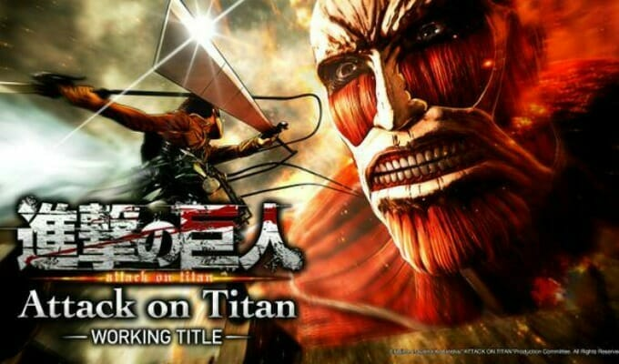 Koei Tecmo Streams New Attack on Titan PS4 Game Trailer