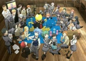 Assassination Classroom S2 Key Visual 001 - 20150928