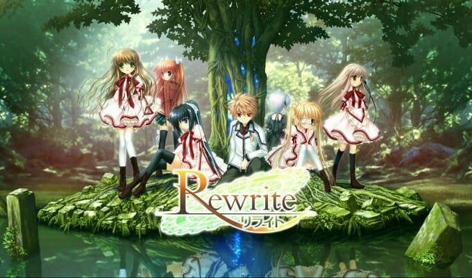 Key's Rewrite Visual Novel Gets Anime Adaptation