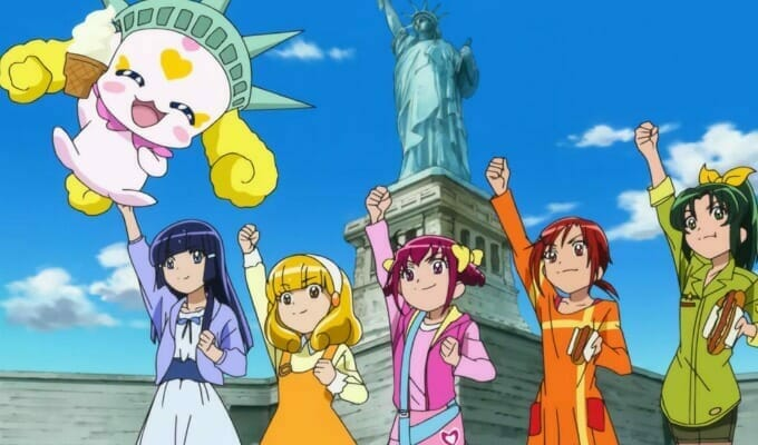 Saban Offers First Look At Glitter Force