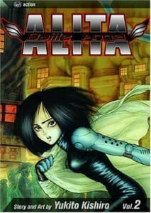Battle Angel Alita Volume 2 Cover - 20151014
