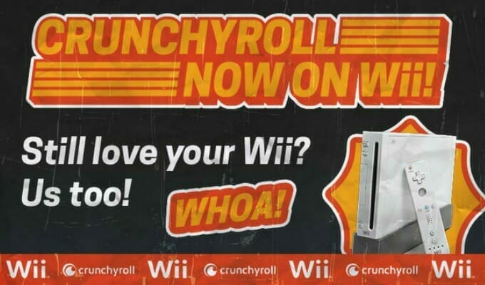 Crunchyroll Launches Nintendo Wii App